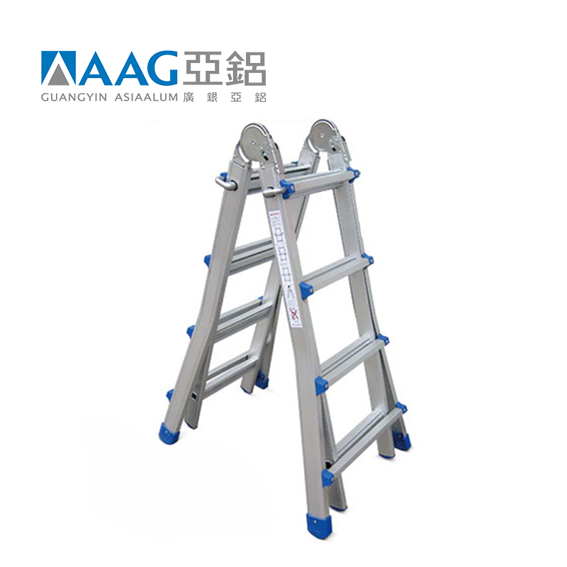 High quality aluminum folding ladder