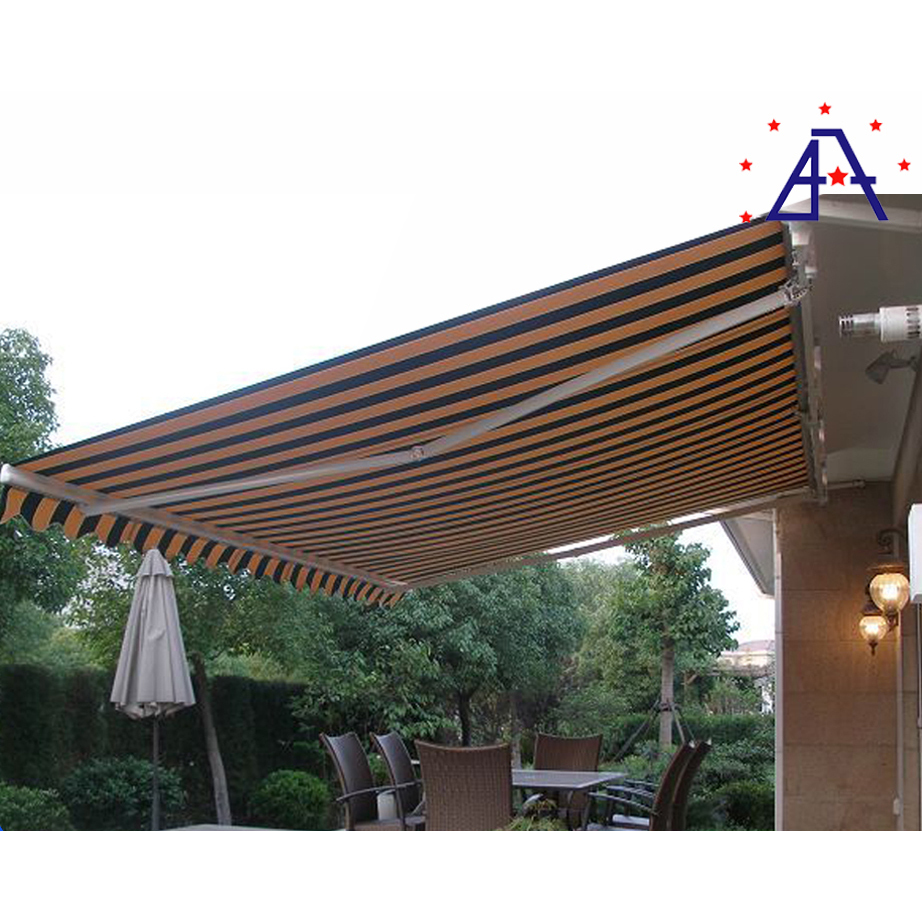 Customizable 4m Projection Folding Arm Hotel Gazebo retractable awning