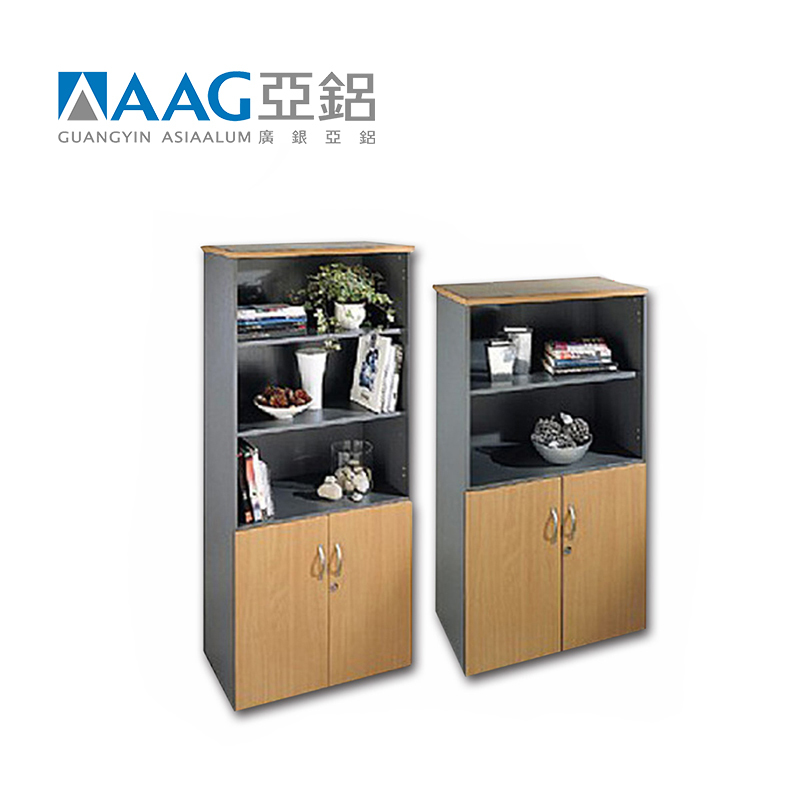 Minimalist Design Aluminum Bookcase for one stand solo