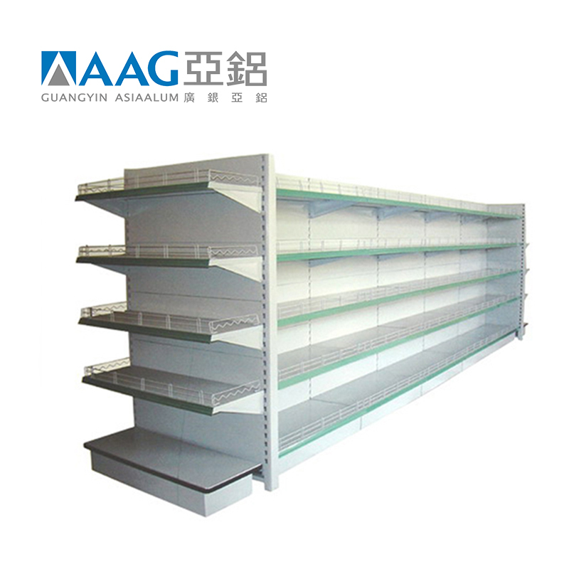 High Quality Aluminum Shelf Supermarket
