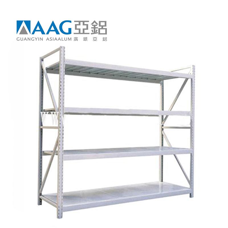 High Quality Aluminum Profile Warehouse Storage Rack Shelf