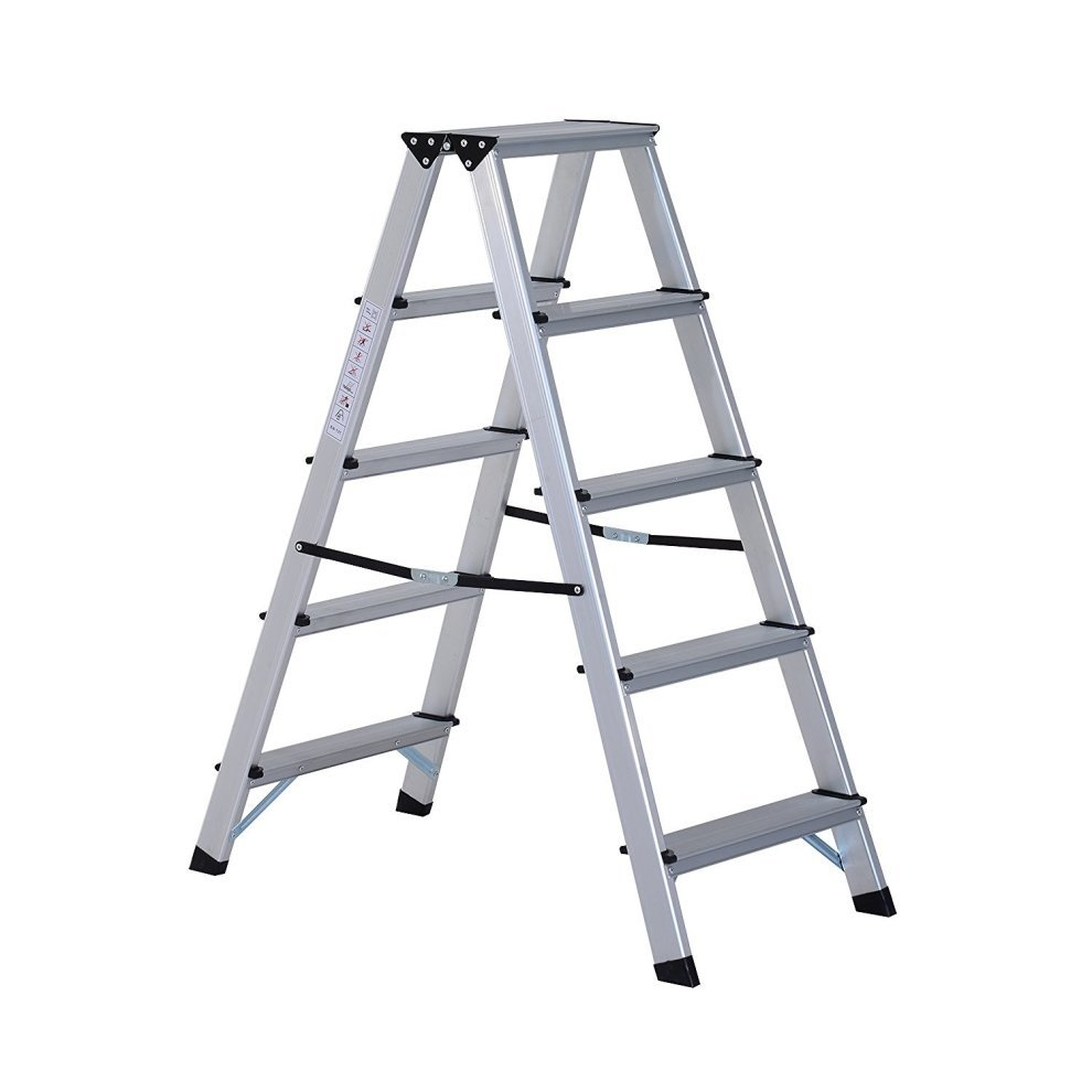 Brand new 8-Foot Velocity Multi-Use Ladder, 300-Pound Signature Series Step Ladder Aluminum Extrusion Profile