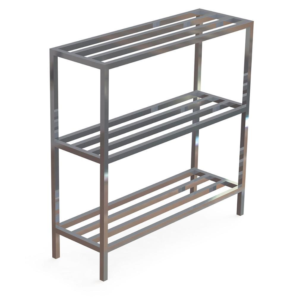 OEM Price Aluminum Construction Fixed Shelving Units AluminIum Storage Shelving