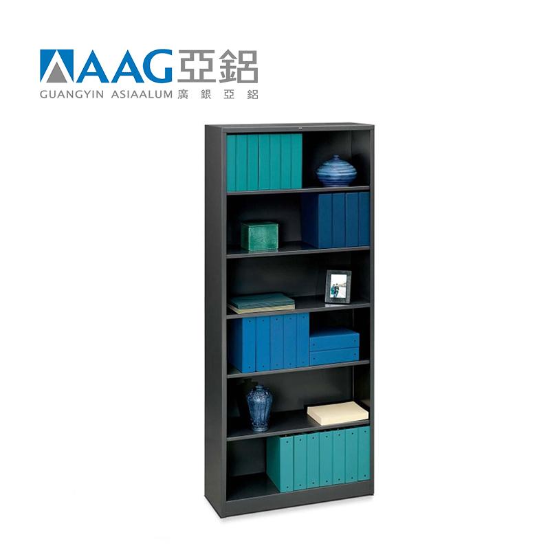 Manufacturer Customized Aluminum Bookcase in Solid Aluminum