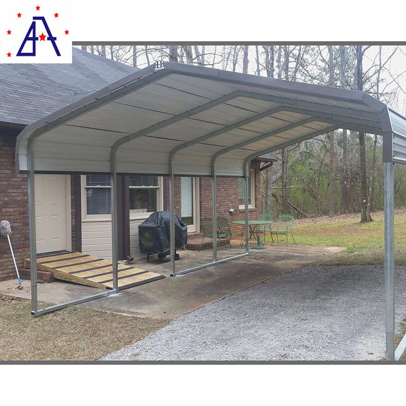 Straight leg outdoor patio Aluminum car garage carport roof canopy tent folding