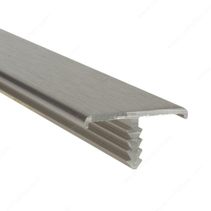 Anodized Aluminum Metal T-Shaped Tile Edging Trim Aluminium Extrusion Profile