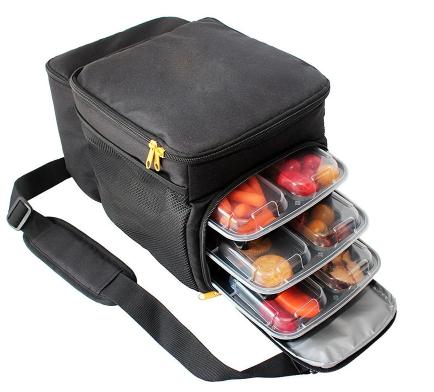 Wholesale Custom Meal Prep Travel Shoulder Bag Large Lunch Cooler Bag for Picnic
