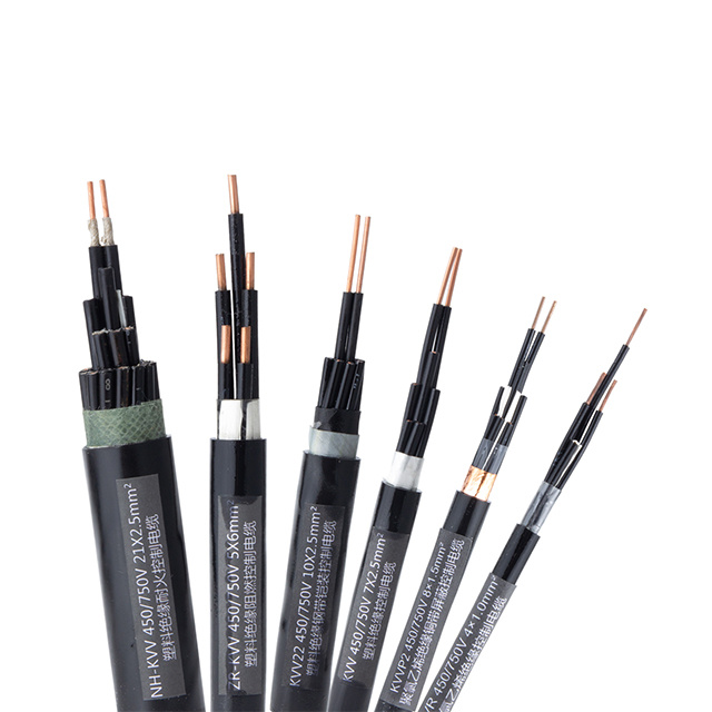 8 Cores 2.5mm WDZB-KYJY23 450/750V STA XLPE Control Cable