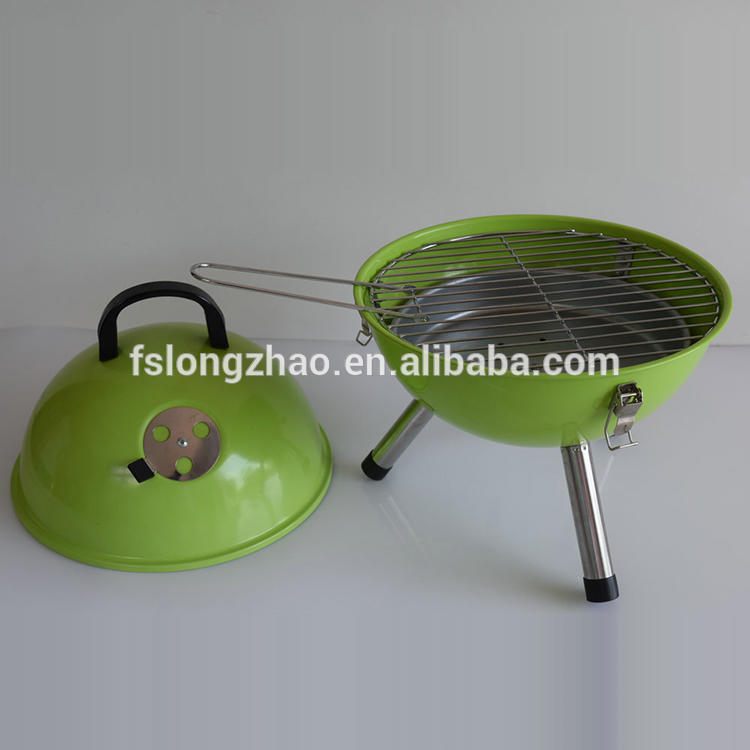 Hot selling mini size charcoal round bbq grill for children