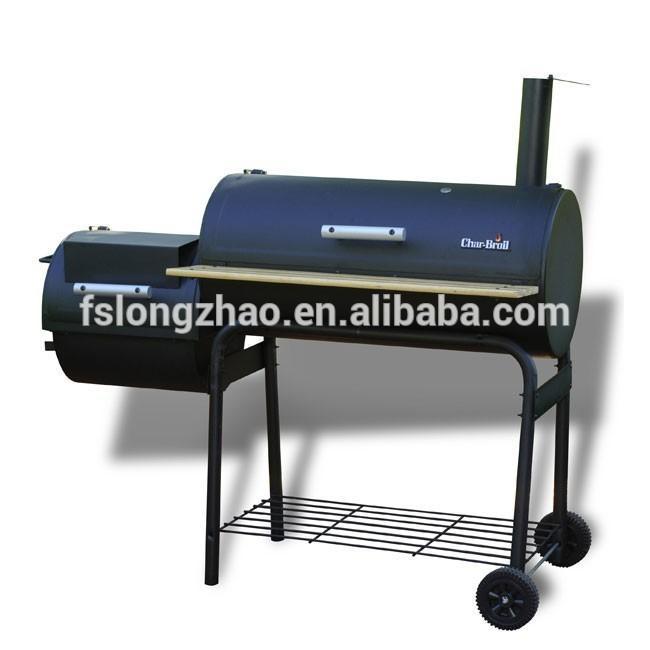 Youwei Backyard Charcoal BBQ Grill Offset Smoker