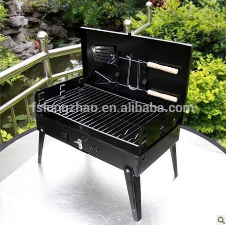 Outdoor Bar-B-Que Charcoal Grill Briefcase BBQ Grill