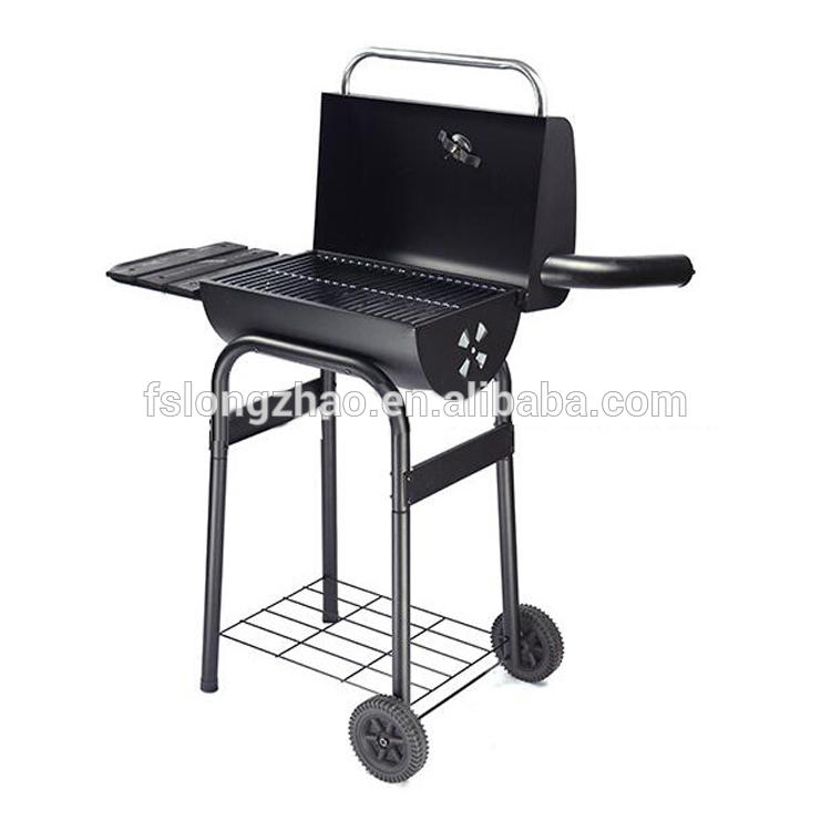 Deluxe design outdoor balcony wood pellet bbq grill