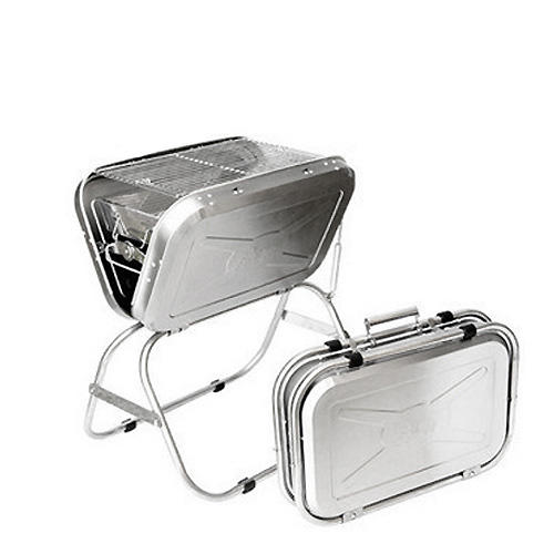Picnic camping folding stainless steel outdoor bbq grill