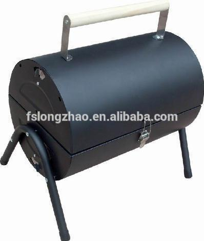 Small Garden Cylinder Outdoor charcoal Barbecue Grill