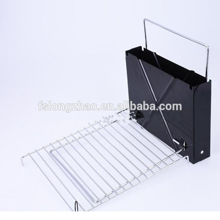 Hotsale picnic time outdoor foldable mini charcoal grill bbq