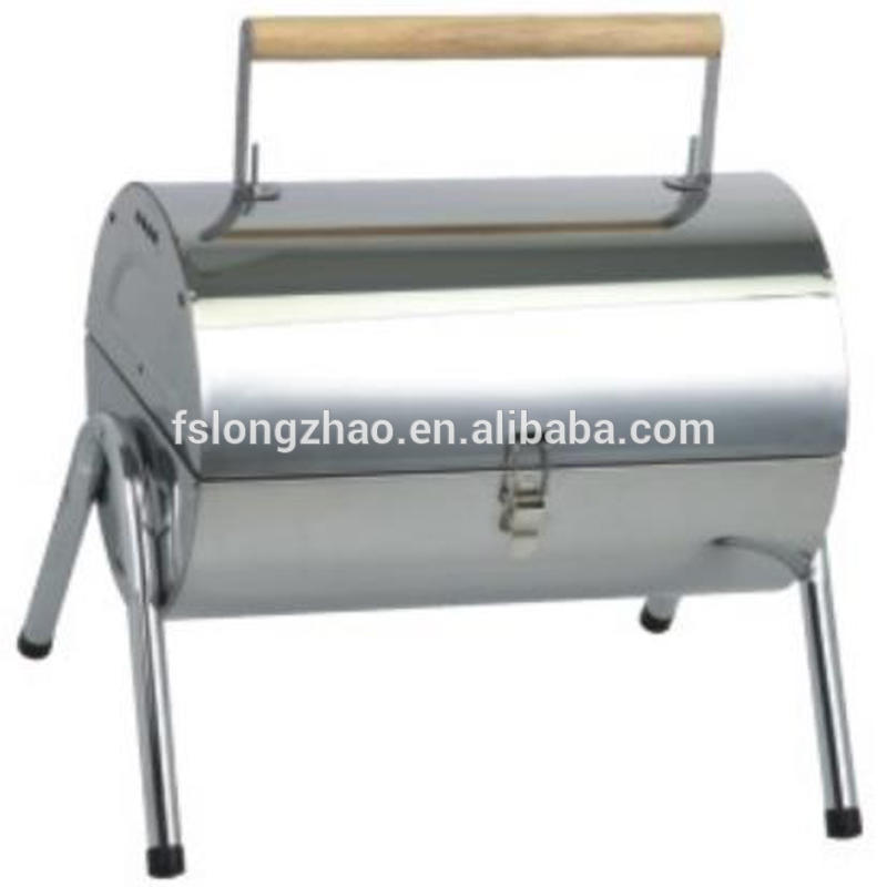 Mini Stainless Steel Charcoal BBQ Grill bbq charcoal grill