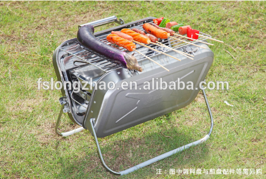 Outdoor barbecue camping grill Mini BBQ grill
