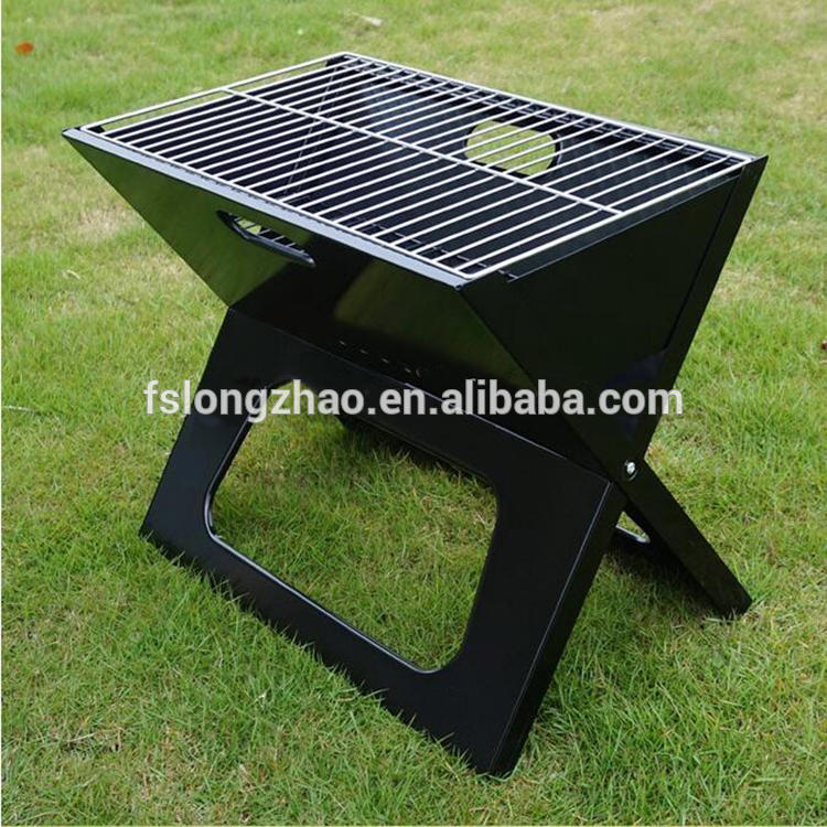 Professional design charcoal portable folding barbecue grill