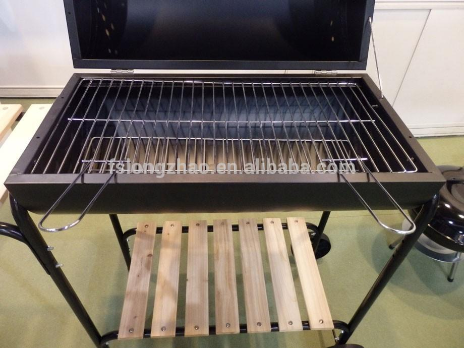 China Manufacturer of Oil drum BBQ grill Charcoal Grill for Garden/Picnic