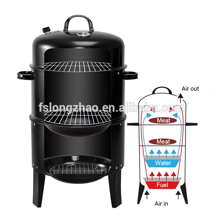 Indoor Charcoal BBQ Grill bbq smoker grill for hot selling