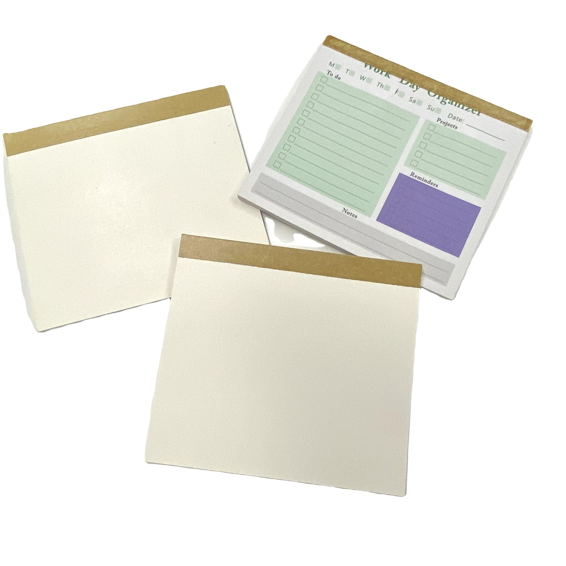 product-Dezheng-Custom Planner Stickers Notebook With Sticky Notes To do List Notepad-img-1