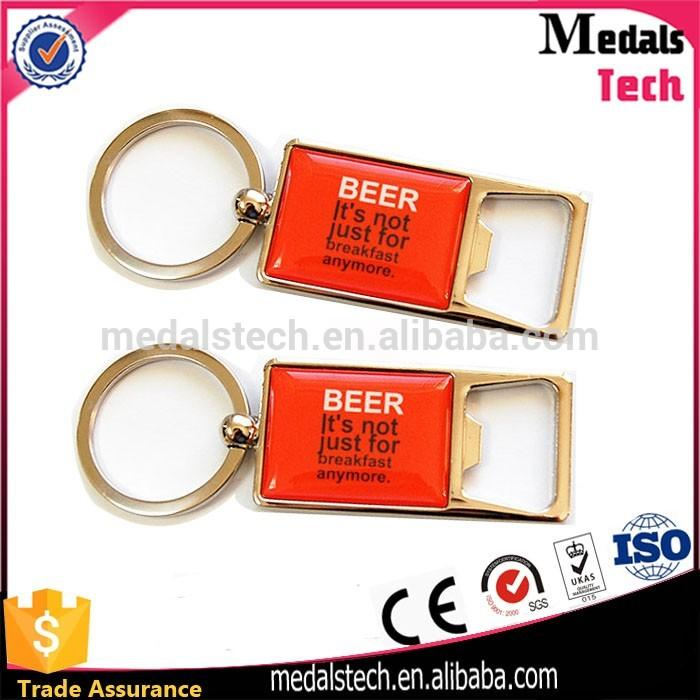 Promotion custom cheap New york city building plate metal keychain manufacturers in china