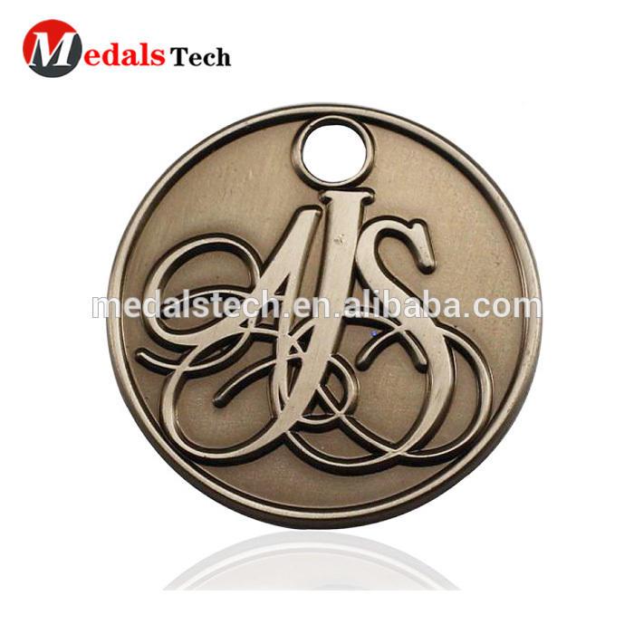 China manufacturer design square belt clip golf ball marker in golf