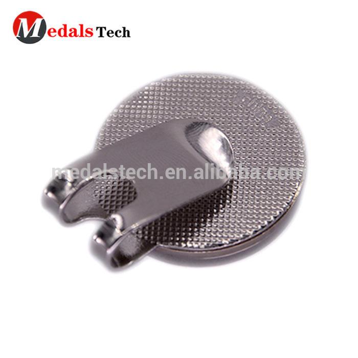 China manufacturer beautiful car logo metal golf hat clip with magnet