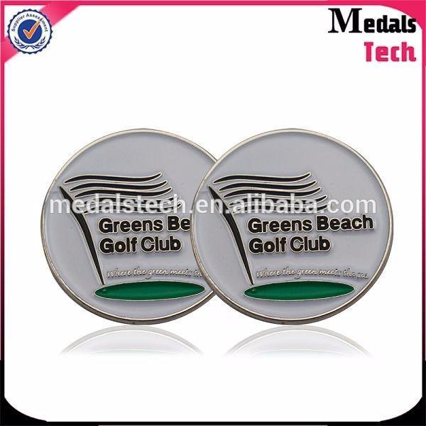 Personalized zinc alloy metal customized bulk golf divot tool ball marker