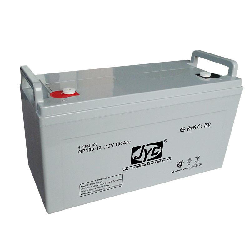 JYC China manufacturer gel battery 12v 100ah battery for solar system