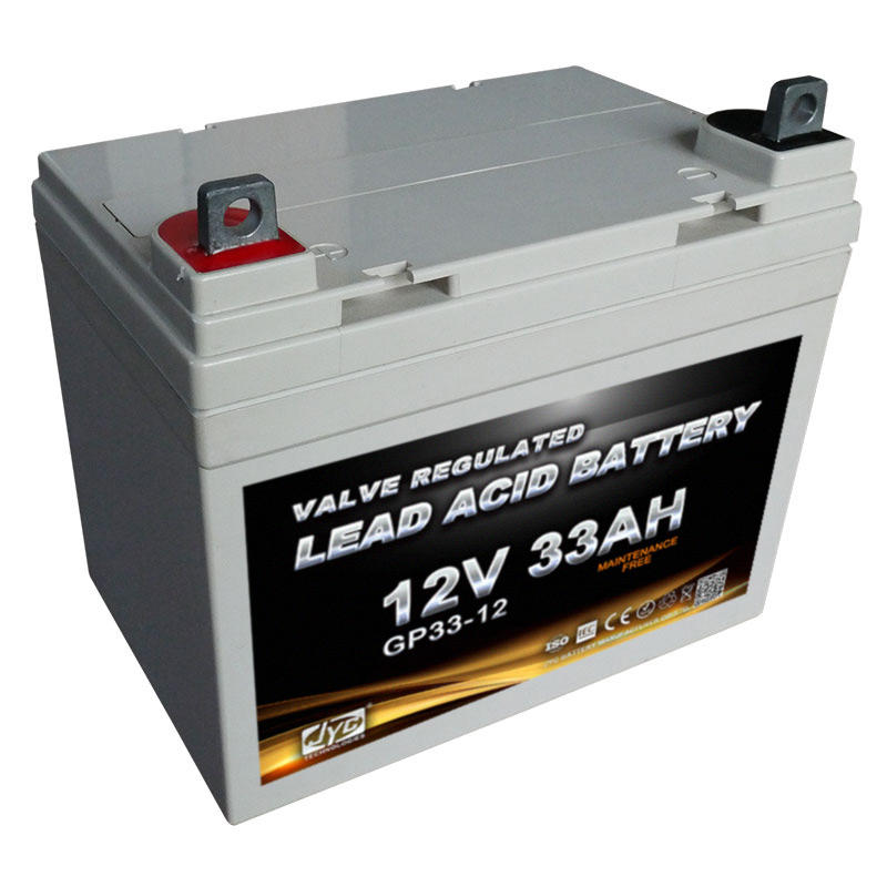 Brand Supplies Maintenance Free Sealed Lead Acid Battery 12v 33ah VRLA battery for UPS