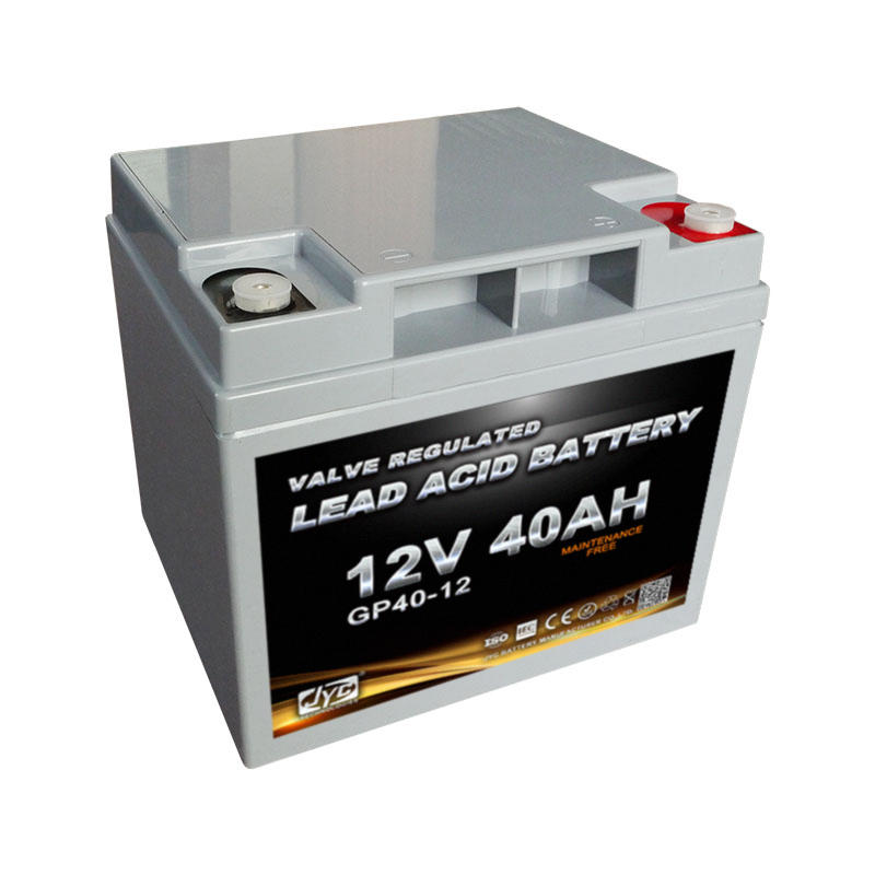 Maintenance Free Sealed Deep Cycle Solar Agm Battery 12V 40AH for UPS Solar System Telecom