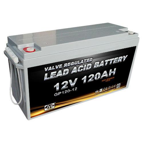 12v 120ah lead acid battery JYC brand good price
