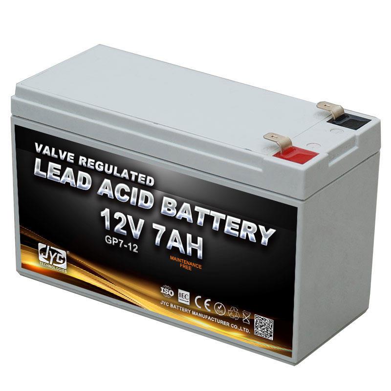 12v sealed lead acid battery mf battery recharge battery 12V 7AH
