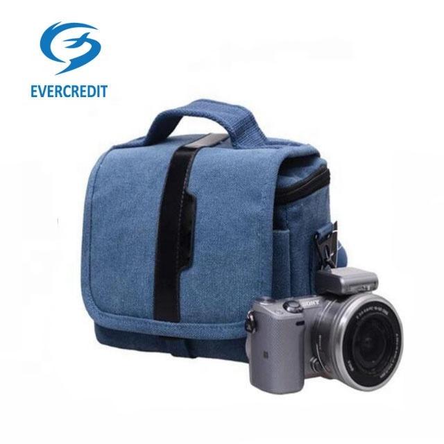 Fashion Design Canvas DSLR Camera Bag and Digital Bags