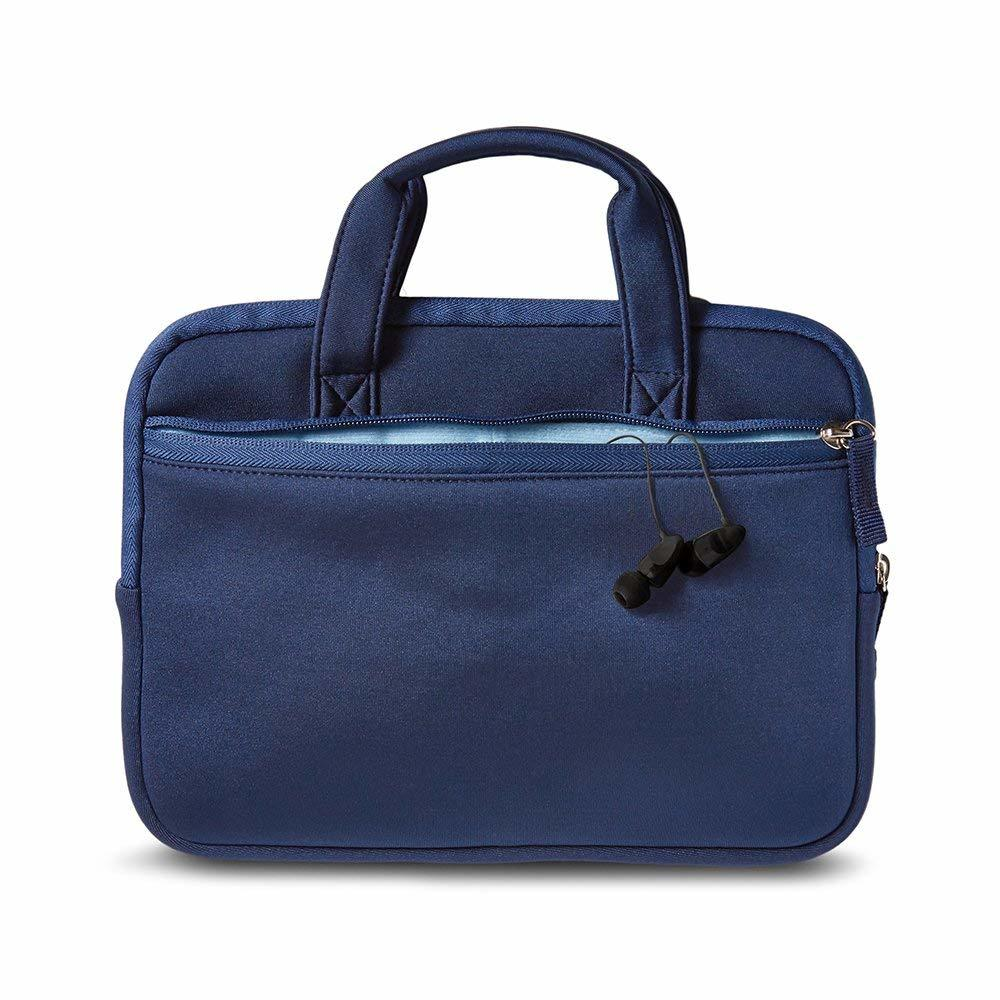 Handle Zipper Laptop Computer Bag and Other Electronics Accessories Laptop Sleeve Organizer