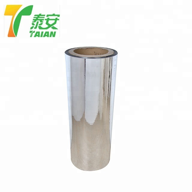 Gloss Sliver Pet Metalized Thermal Lamination Films For Printing