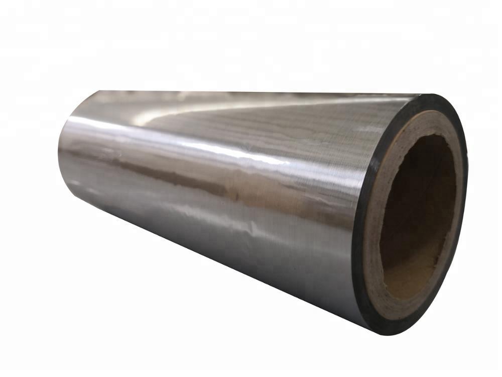 UV printing silver Metalized film metallic roll thermal laminating film