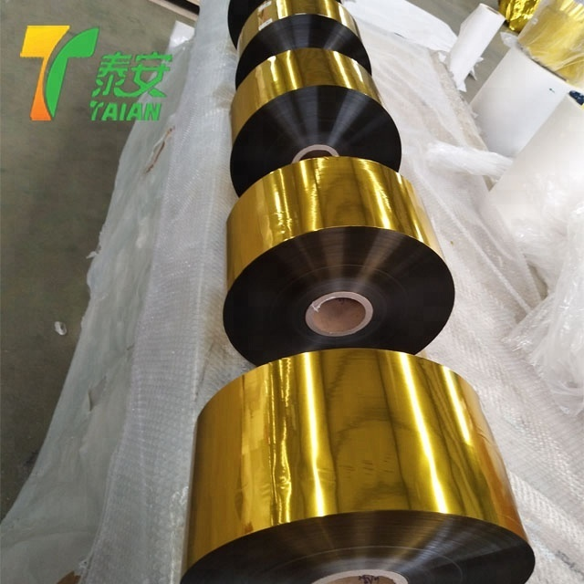 Hot Sale High Quality Gold Metalized Pet Lamination Film