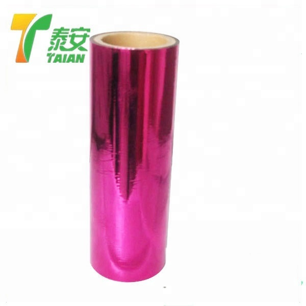 China Factory Directly Selling Grade A Silver Color BOPP Metalized Thermal Lamination Film/PET Metal Thermal Lamination Film