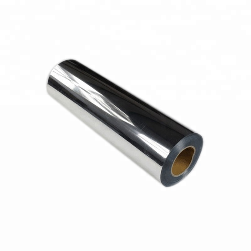 Hot Sell Customized Silver and Gold Metalized Pet Thermal Laminating Film