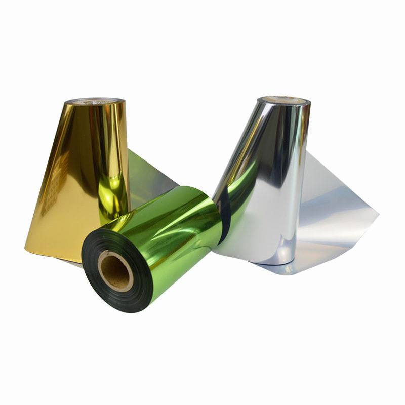 Corona Treated PetMetalized High Temperature Resistance Film Roll Film For Package Material
