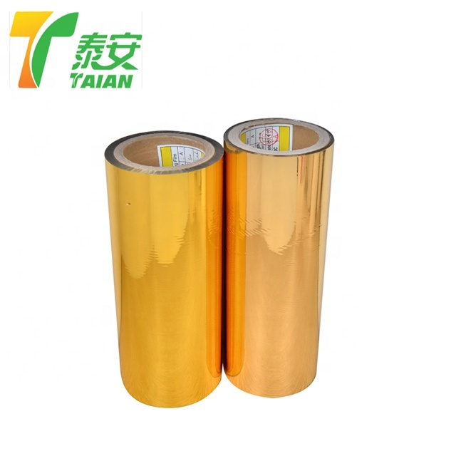 Hot Sale High Quality Gold Metalized PET Laminating Film
