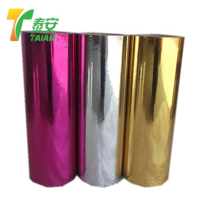 Metalized Polyester Film Polyethylene Film Plastic Film for Printing and Packaging