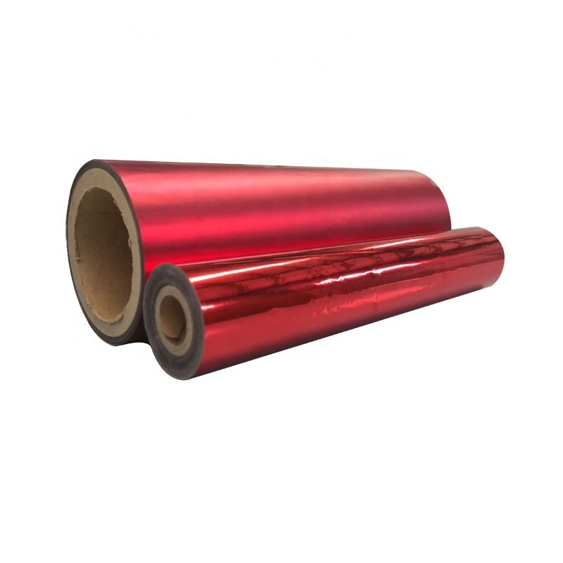 PET/BOPP Multicolor Metallized Thermal Lamination Films With High Quality