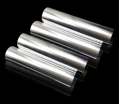 Silver Film Metalized PET Thermal Lamination Film Decorative Film