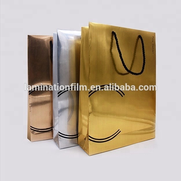 High Quality BOPP Multicolor Metallized Thermal Lamination Films