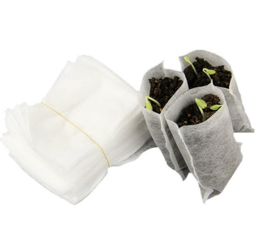 Biodegradable Non-Woven Nursery Bags Plant Grow BagsBiodegradable Non-Woven Nursery Bags Plant Grow Bags