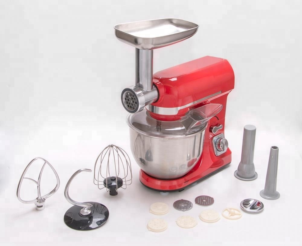 Die cast multi-function stand mixer