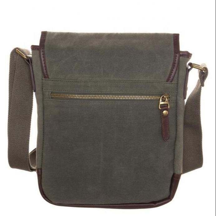 Fashion messenger cross sling small custom long single strip professionalmen shoulder bag for travel and business man